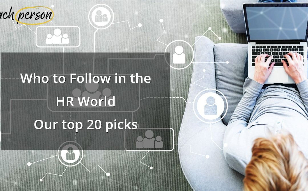 Who to Follow in the HR World: Our Top 20 Picks