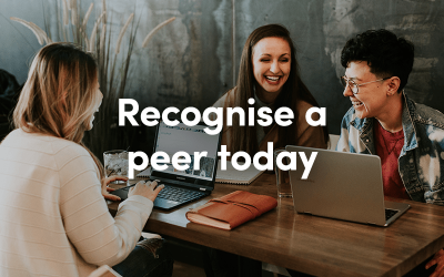 Recognise a peer today with an ecard