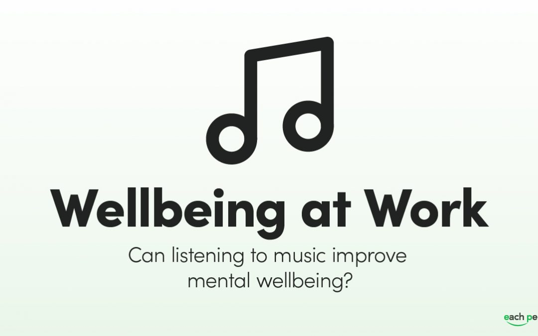 How Listening to Music Can Help Wellbeing at Work
